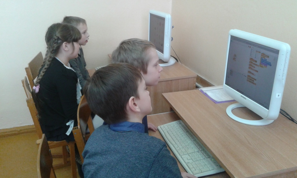 Junior Scratchers from Orsha Secondary School No.12